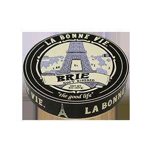 Cheese, La Bonne Vie® Brie Cheese, 8 oz Wheel