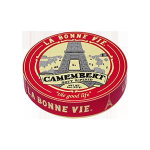 Cheese, La Bonne Vie® Camembert Cheese, 8 oz Wheel