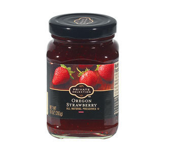 Fruit Spread, Private Selection® Oregon Strawberry Preserves (10 oz Jar)