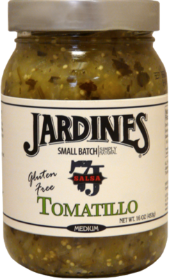 Salsa, Jardines® Tomatillo Salsa, Medium (16 oz Jar)