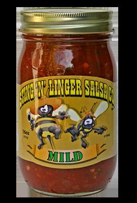 Salsa, Sting 'N' Linger® Mild Salsa (16 oz Jar)