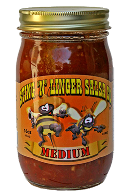 Salsa, Sting 'N' Linger® Medium Salsa (16 oz Jar)