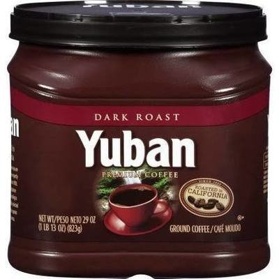 Ground Coffee, Yuban® Dark Roast Ground Coffee (25.3 oz Tub)