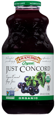 Juice Drink, R.W. Knudsen® Just Concord Grape™ Juice (32 oz Bottle)