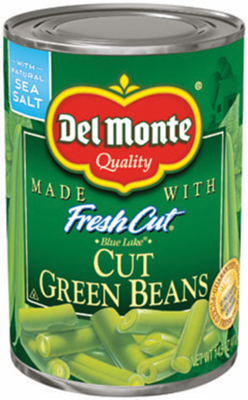 Canned Green Beans, Del Monte®