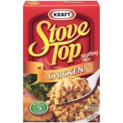 Stuffing Bread, Kraft® Stove Top® Chicken Stuffing Mix (6 oz Box)