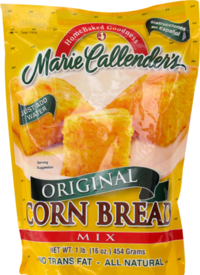 Corn Bread Mix, Marie Callender's® Corn Bread Mix (16 oz Bag)