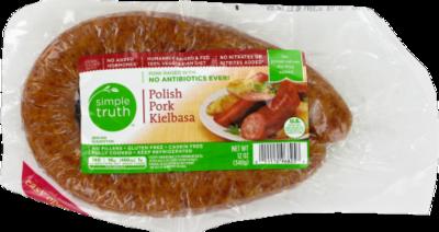 Fresh Kielbasa Sausage, Simple Truth™ Kielbasa Sausage (12 oz Bag)