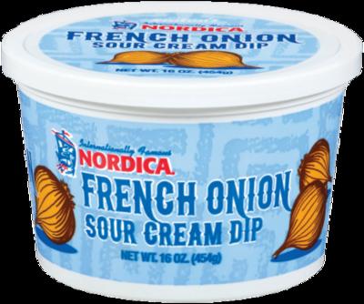 Sour Cream Dip, Nordica® French Onion Dip (16 oz Tub)