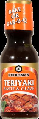 Teriyaki Sauce, Kikkoman® Teriyaki Baste & Glaze Sauce (12 oz Bottle)
