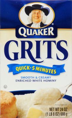 Grits, Quaker® Instant Grits (24 oz Box)
