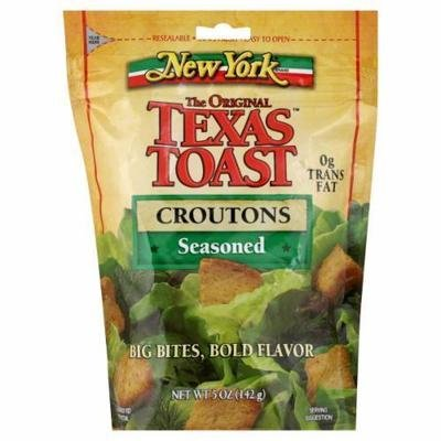 Salad Croutons, New York Texas Toast® Seasoned Croutons (5 oz Bag)