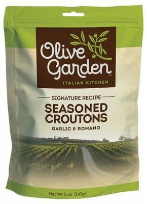 Salad Croutons, Olive Garden® Seasoned Croutons (5 oz Bag)