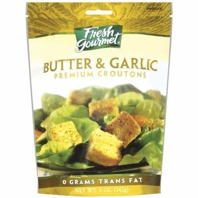 Salad Croutons, Fresh Gourmet® Butter & Garlic Croutons (5 oz Bag)