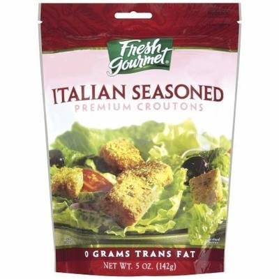 Salad Croutons, Fresh Gourmet® Italian Seasoned Croutons (5 oz Bag)