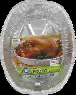 Roaster, Handi-Foil® Eco-Foil® Cover Roaster Pan (1 Count)