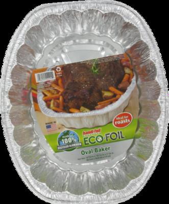 Roaster, Handi-Foil® Eco-Foil® Oval Baker Pan (1 Count)