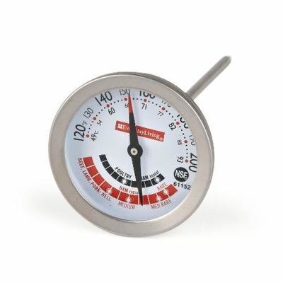 Thermometer, Everyday Living® Stainless Steel Meat Thermometer (1 Count)