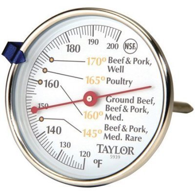 Thermometer, Taylor® Meat Thermometer (1 Count)