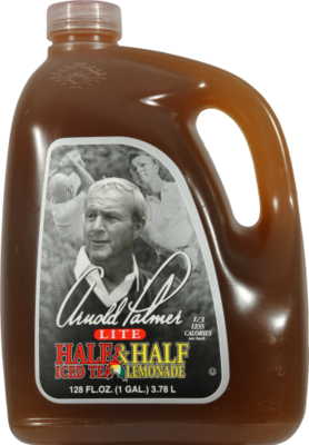 Lemonade, Arizona® Arnold Palmer Light ½ Iced Tea & ½ Lemonade (128 oz Jug)