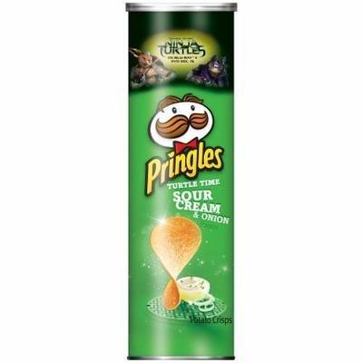 Potato Chips, Pringles® Sour Cream & Onion Potato Chips (5.96 oz Can)