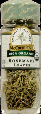 Seasonings, McCormick Gourmet® Rosemary Leaves (0.65 oz Jar)