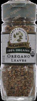 Seasonings, McCormick Gourmet® Oregano Leaves (0.5 oz Jar)