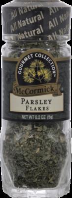 Seasonings, McCormick Gourmet® Parsley Flakes (0.2 oz Jar)