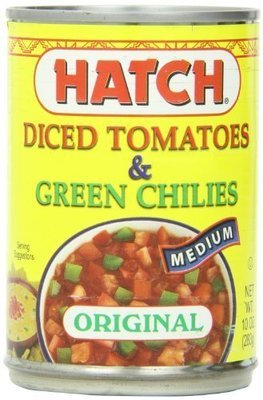 Canned Tomato, Hatch® Medium Diced Tomatoes & Green Chilies (10 oz Can)