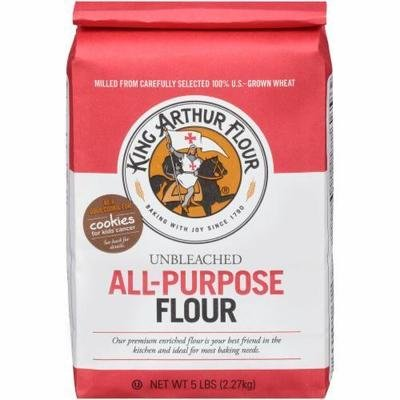 Baking Flour, King Arthur® All Purpose Unbleached Flour (80 oz Bag)