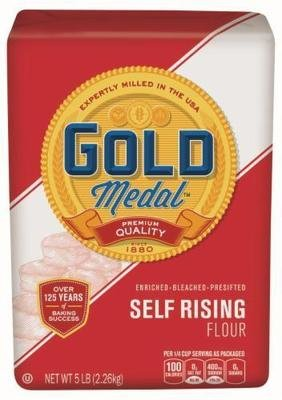 Baking Flour, Gold Medal® Self-Rising Beached Flour (80 oz Bag)