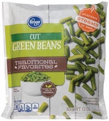 Frozen Peas, Kroger® Green Peas (12 oz Bag)