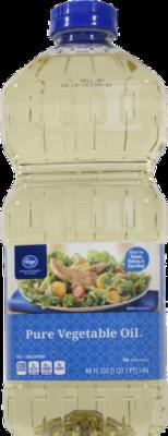 Vegetable Oil, Kroger® Pure Vegetable Oil ( 48 oz Bottle)