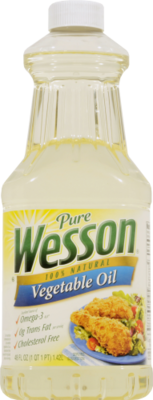 Canola Oil, Wesson® Pure Vegetable Oil ( 48 oz Bottle)
