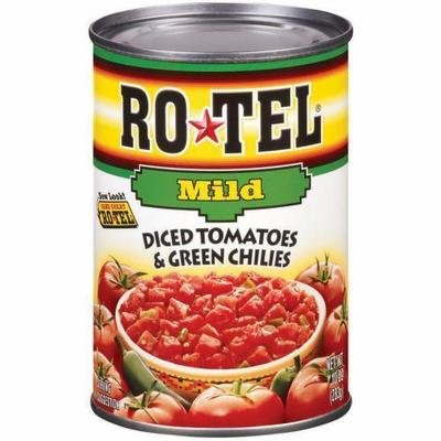 Canned Tomato, Rotel® Mild Diced Tomatoes & Green Chilies (10 oz Can)