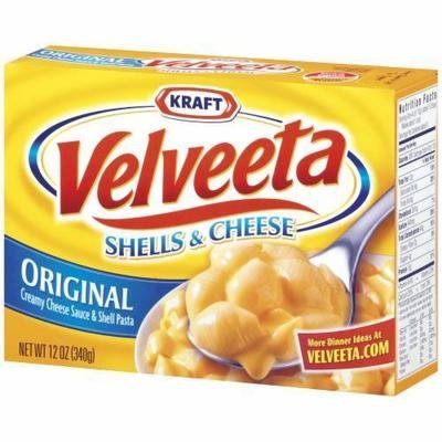 Mac N Cheese Dinner, Kraft® Velveeta® Shells 'N' Cheese (12 oz Box)