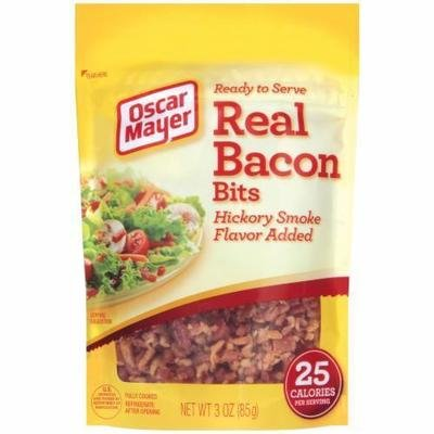 Bacon Bits, Oscar Mayer® Real Bacon Bits (3 oz Bag)