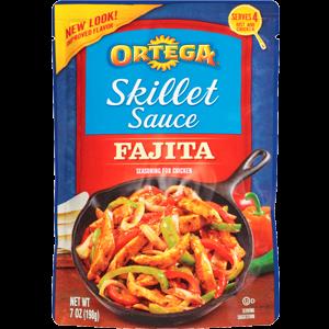 Fajita Sauce, Ortega® Fajita Skillet Sauce (7 oz Bag)