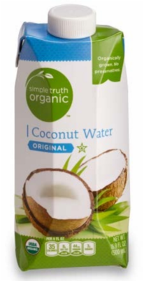 Organic Coconut Water, Simple Truth Organic™ Coconut Water (16.9 oz Carton)
