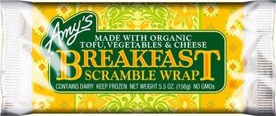 Wrap, Amy's® Breakfast Scramble Wrap (5 oz Bag)