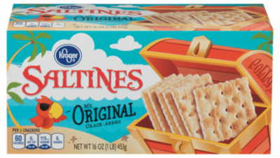 Saltine Crackers, Kroger® Original Thin & Crispy Saltine Crackers (16 oz Box)