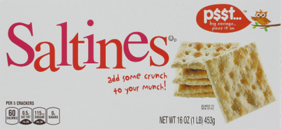 Saltine Crackers, P$$t...® Saltine Crackers (16 oz Box)