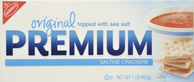 Saltine Crackers, Nabisco® Premium Original Saltine Crackers (16 oz Box)