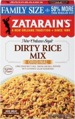 Rice, Zatarain's® New Orleans Style Dirty Rice Mix (12 oz Box)