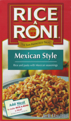 Rice, Rice A Roni® Mexican Style Rice (6.4 oz Box)
