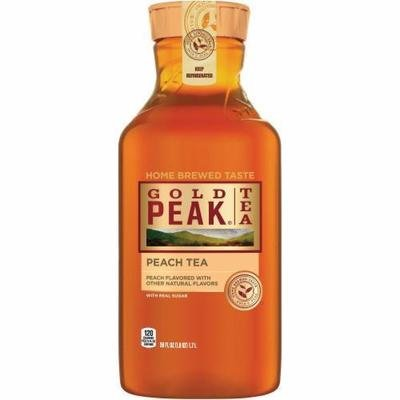 Sweet Tea, Gold Peak® Sweet Tea Peach Brew (59 oz Bottle)