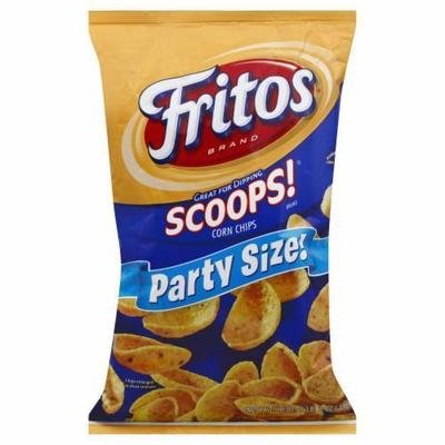 Corn Chips, Frito's® Scoops® Corn Chips (18 oz Bag)