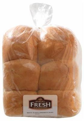 Sandwich Buns, Bakery Fresh Goodness® White Slider Sandwich Buns (12 count, 12 oz Bag)