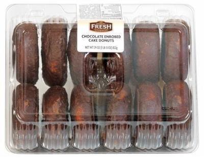 Donuts, Bakery Fresh Goodness® Chocolate Donuts (29 oz Tray)
