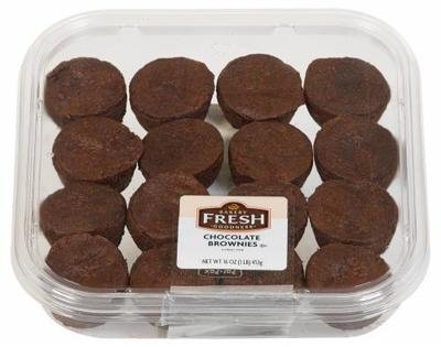 Brownies, Bakery Fresh Goodness® Chocolate Brownies (16 oz Tray)